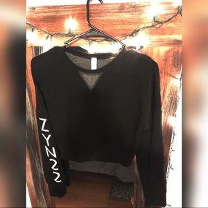 GLYDER Crop Sweater